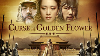 Netflix box art for Curse of the Golden Flower